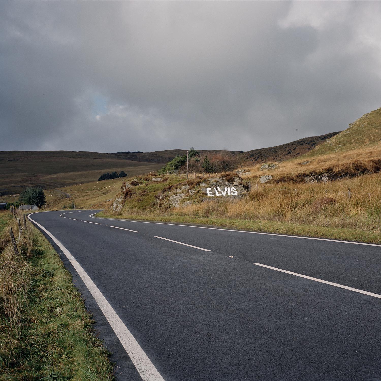 Clementine Schneidermann The Elvis Rock, A44 near Powys, Wales, 2017