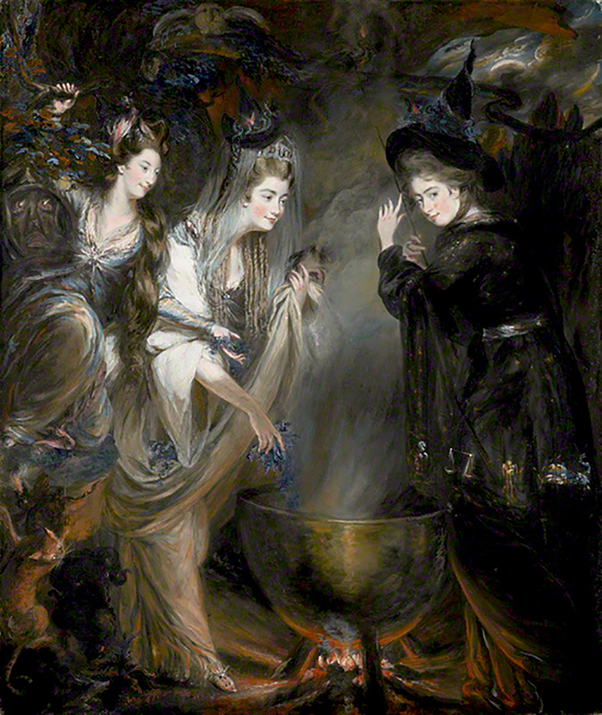 Daniel Gardner, The Three Witches from Macbeth, 1775