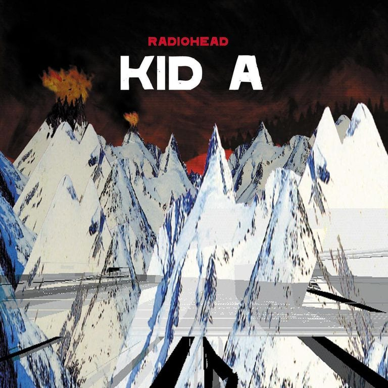 Stanley Donwood, Radiohead Kid A cover