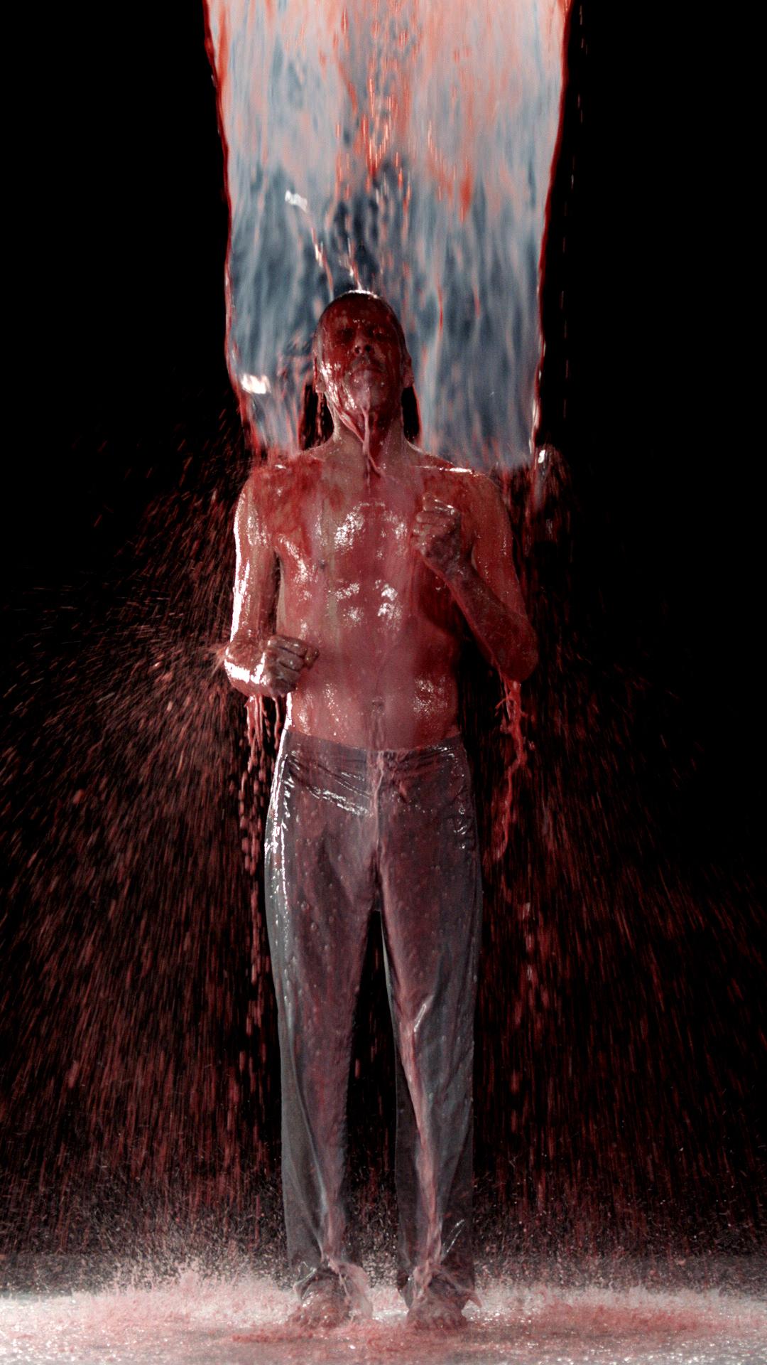 bill viola inverted birth artist video