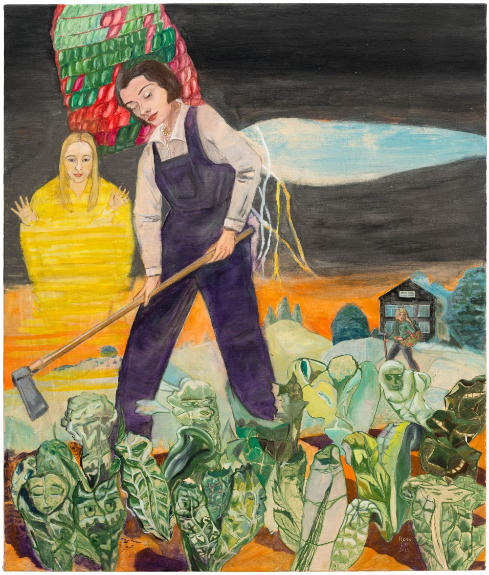 Rosa Loy, Bienenweide, 2015, courtesy of the Kohn Gallery