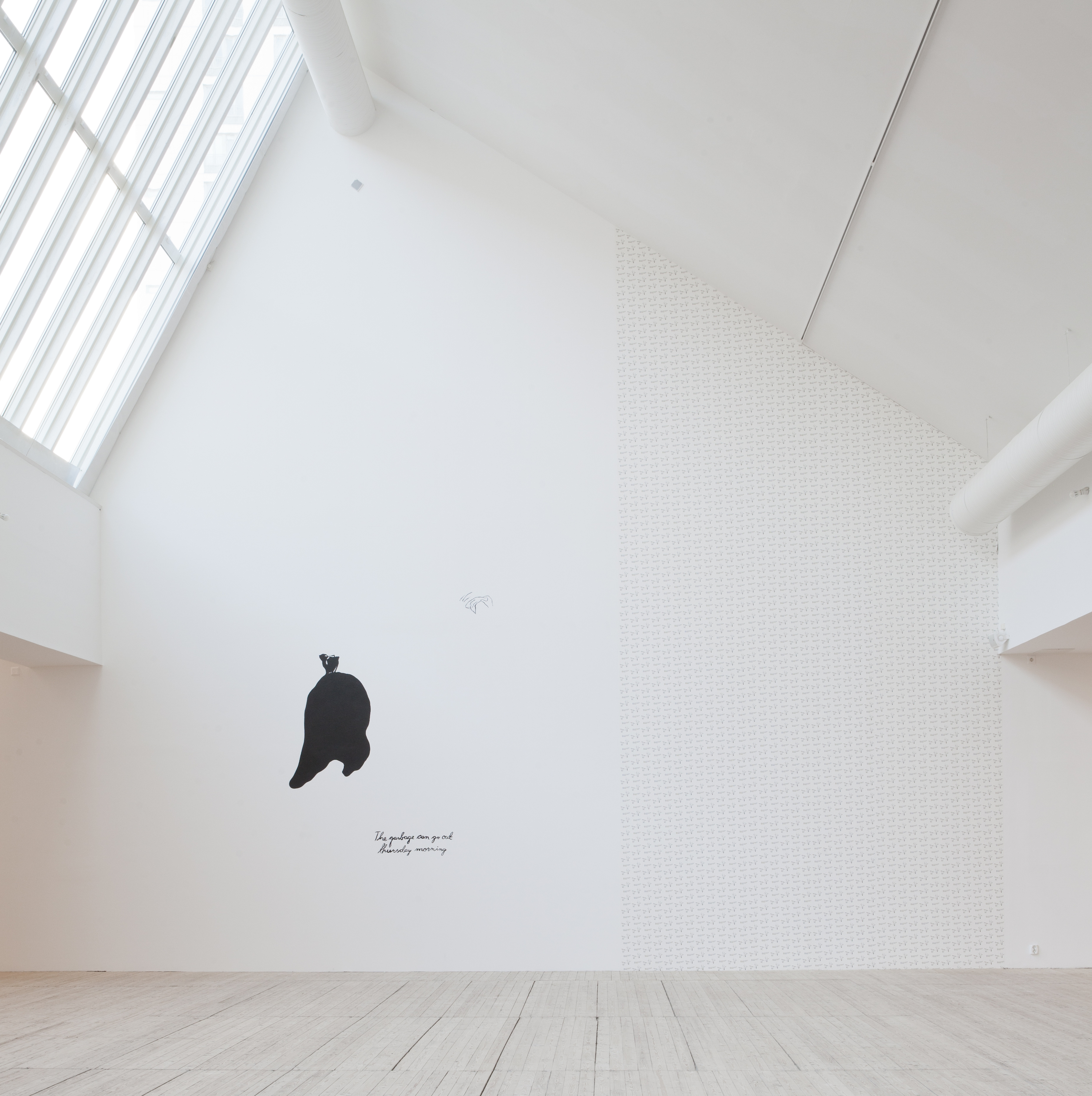 Maria Lindberg is showing at the Kunsthall until 13 January. Photo by Helen Toresdotter