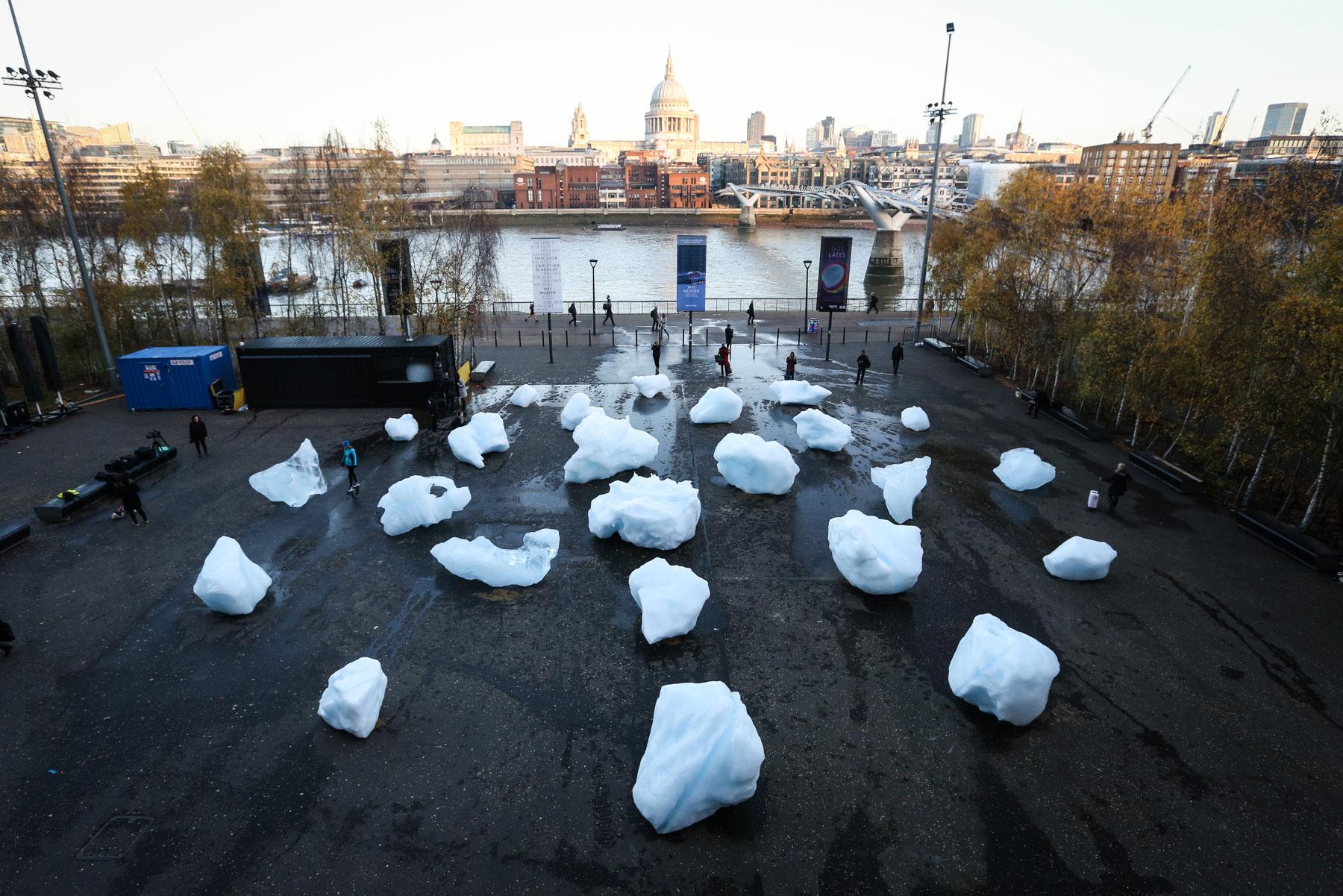 Ice Watch, Photo: Matt Alexander/PA Wire