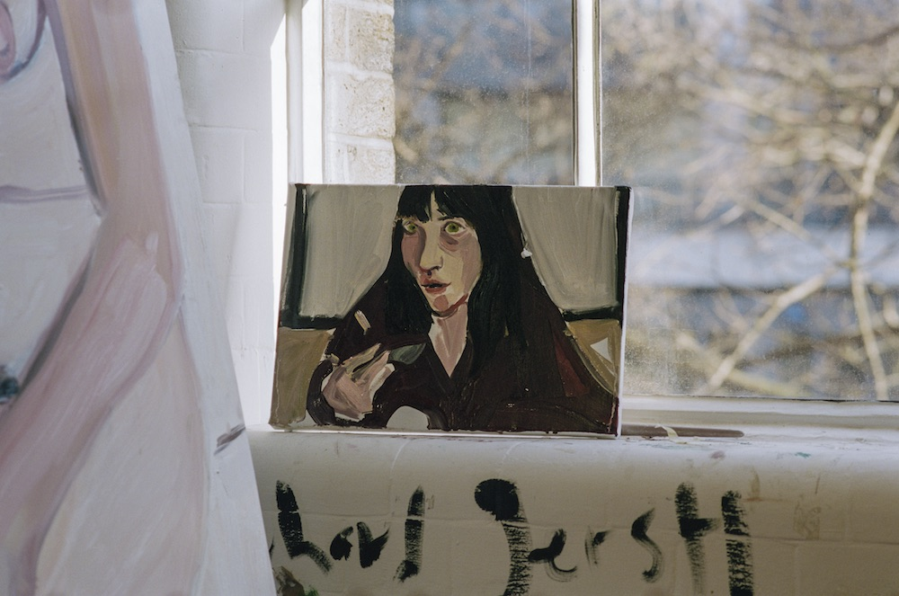 Chantal Joffe, Studio photography by Isabelle Young