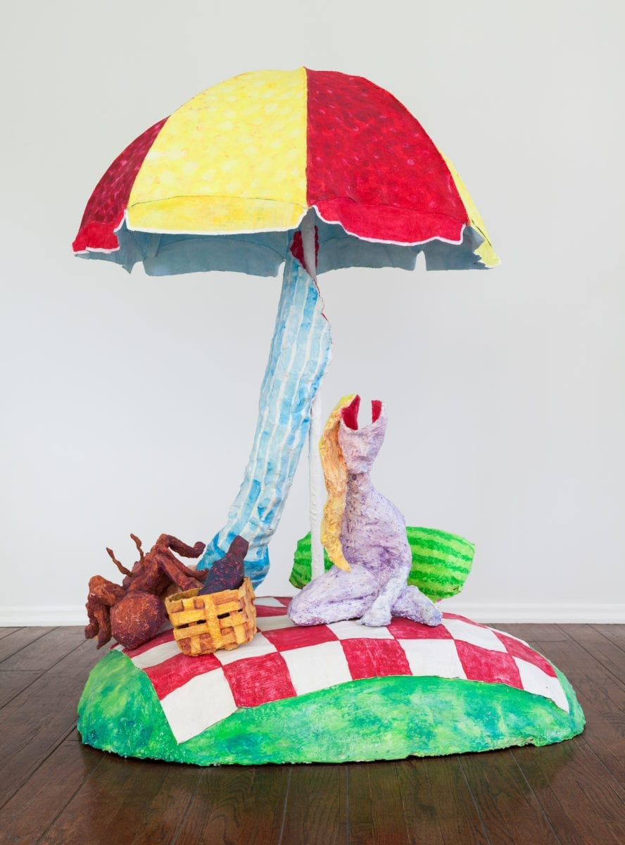 Hannah Greely, The Picnic, 2017 with Parker Gallery, Los Angeles