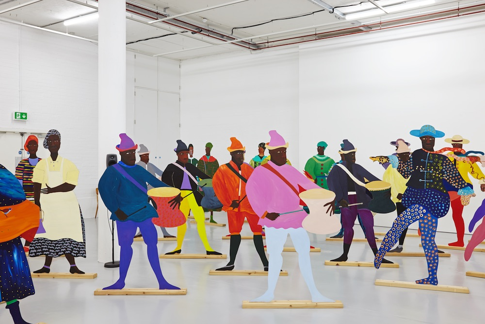 Naiming the Money, 2004, Spike Island, Bristol January-March 2017 Lubaina Himid