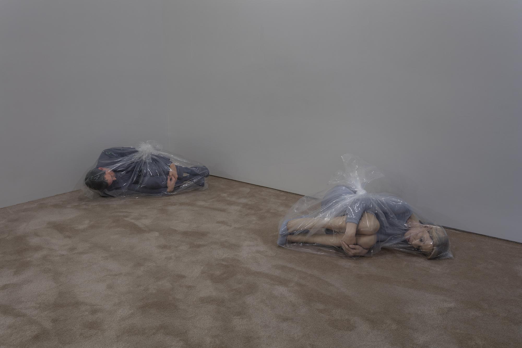 Josh Kline, Unemployment, installation view, May 3 - June 12, 2016, 47 Canal, New York, NY. © Josh Kline. Courtesy the artist, Modern Art, London & 47 Canal, New York, NY