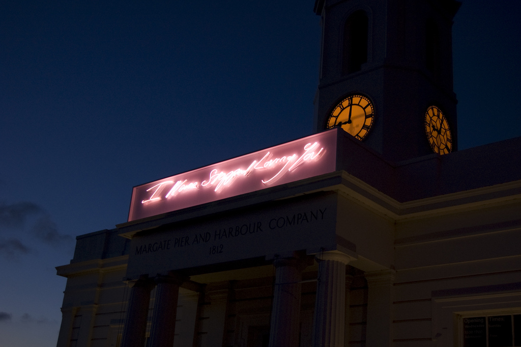 Tracey Emin, I Never Stopped Loving You, Droit House, Margate. © Katie Hunt
