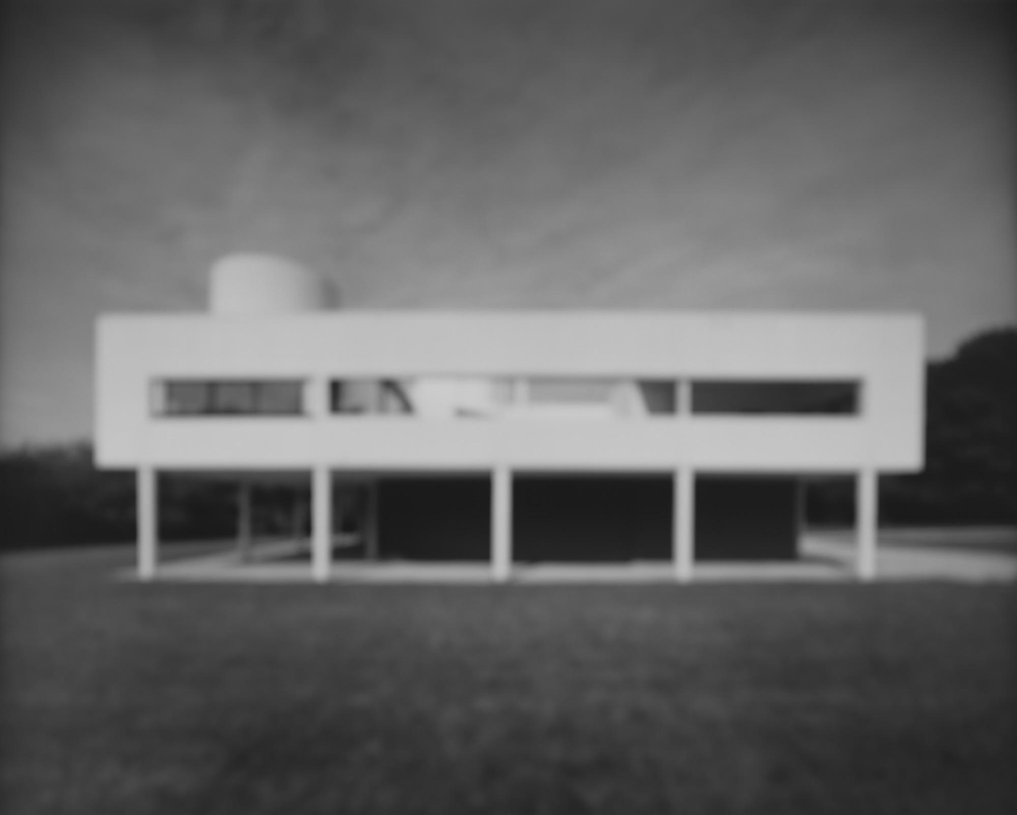 Hiroshi Sugimoto, Villa Savoye Le Corbusier, 1998