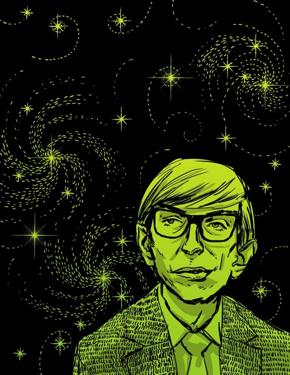 Quinton Winter, Stephen Hawking, from Stories for Boys Who Dare to be Different