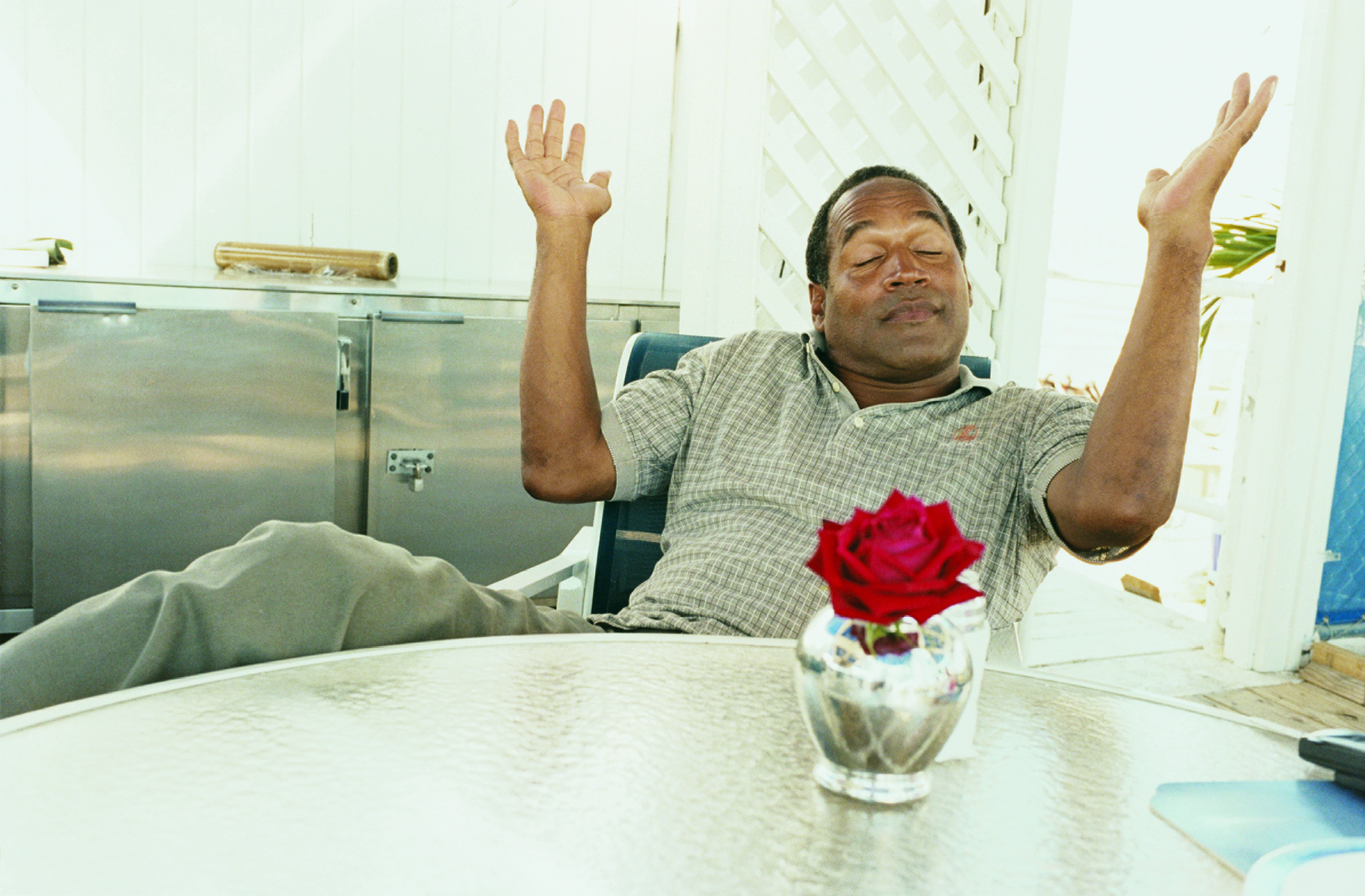 Juergen Teller, OJ Simpson, Only God knows, Miami, 2000 © Juergen Teller, courtesy Galerie Suzane Tarasieve, Paris
