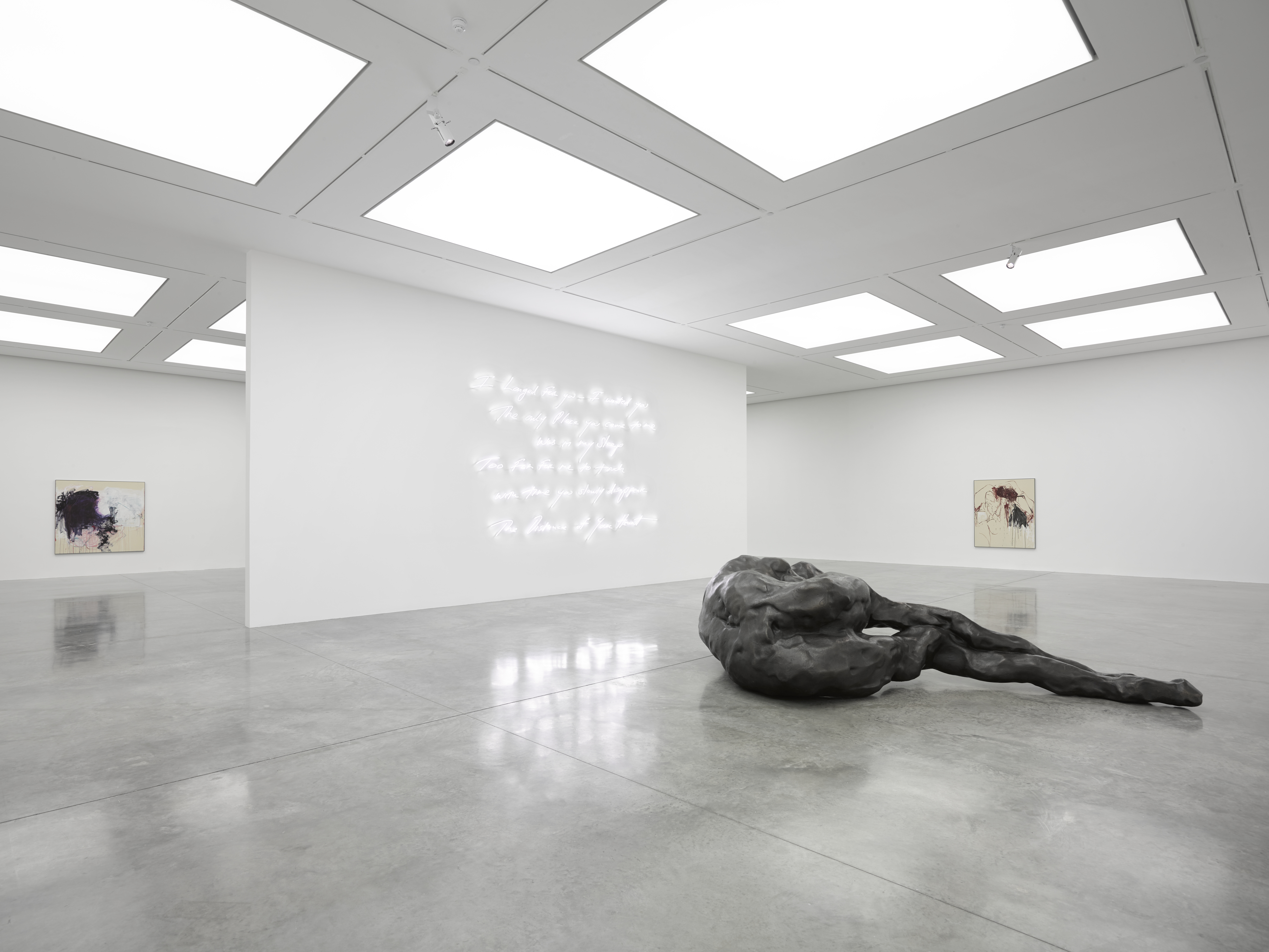Tracey Emin, A Fortnight of Tears, White Cube Bermondsey