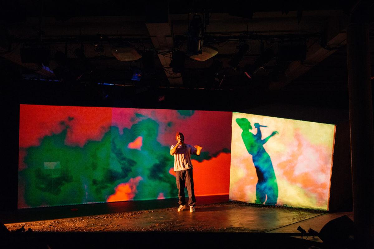 Arinze Kene in Misty by Arinze Kene at the Bush Theatre Helen Murray - 6
