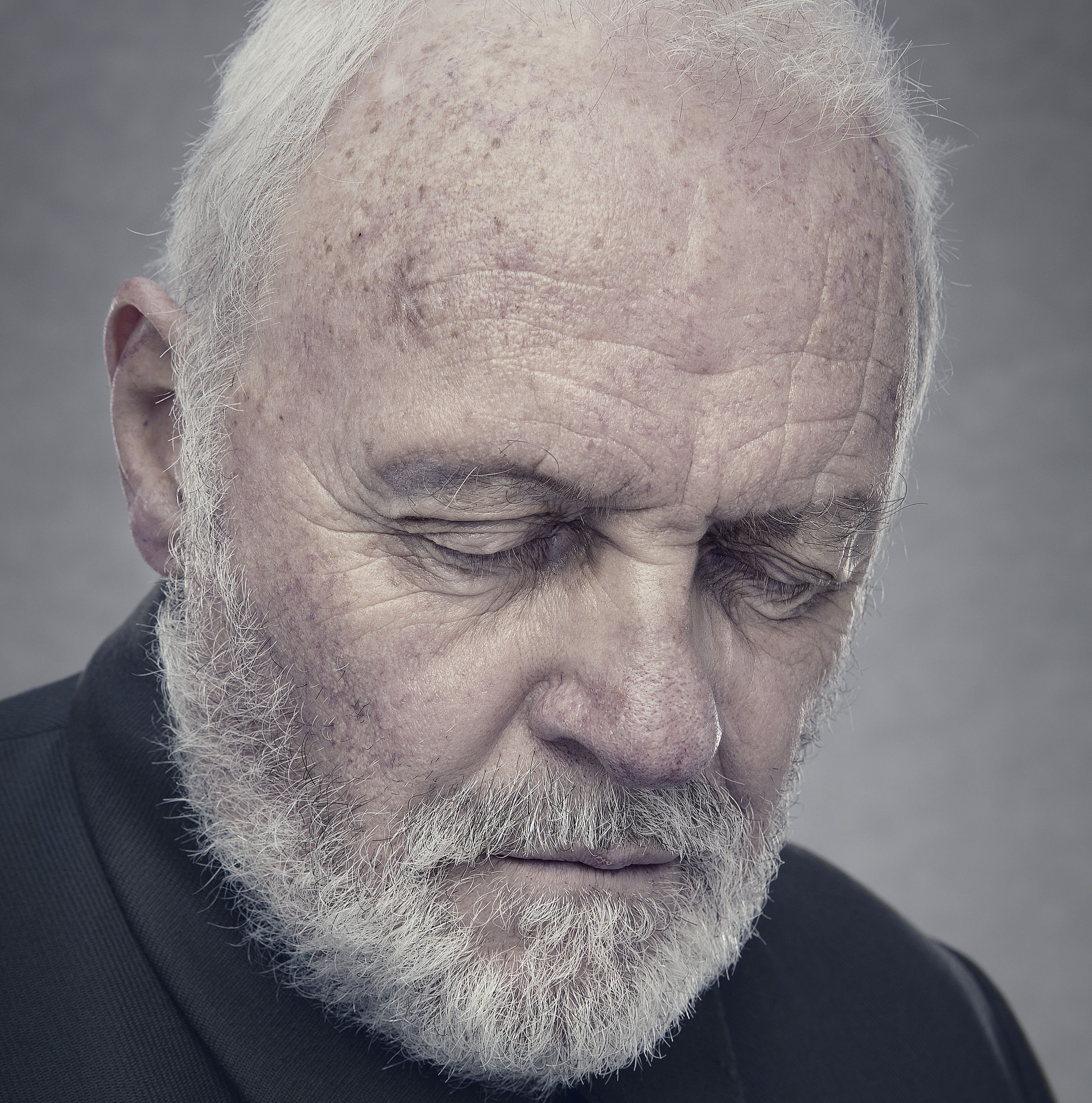 Sir Anthony Hopkins as King Lear in the BBC Two adaptation of King Lear (detail). BBC/Playground Entertainment/Ed Miller