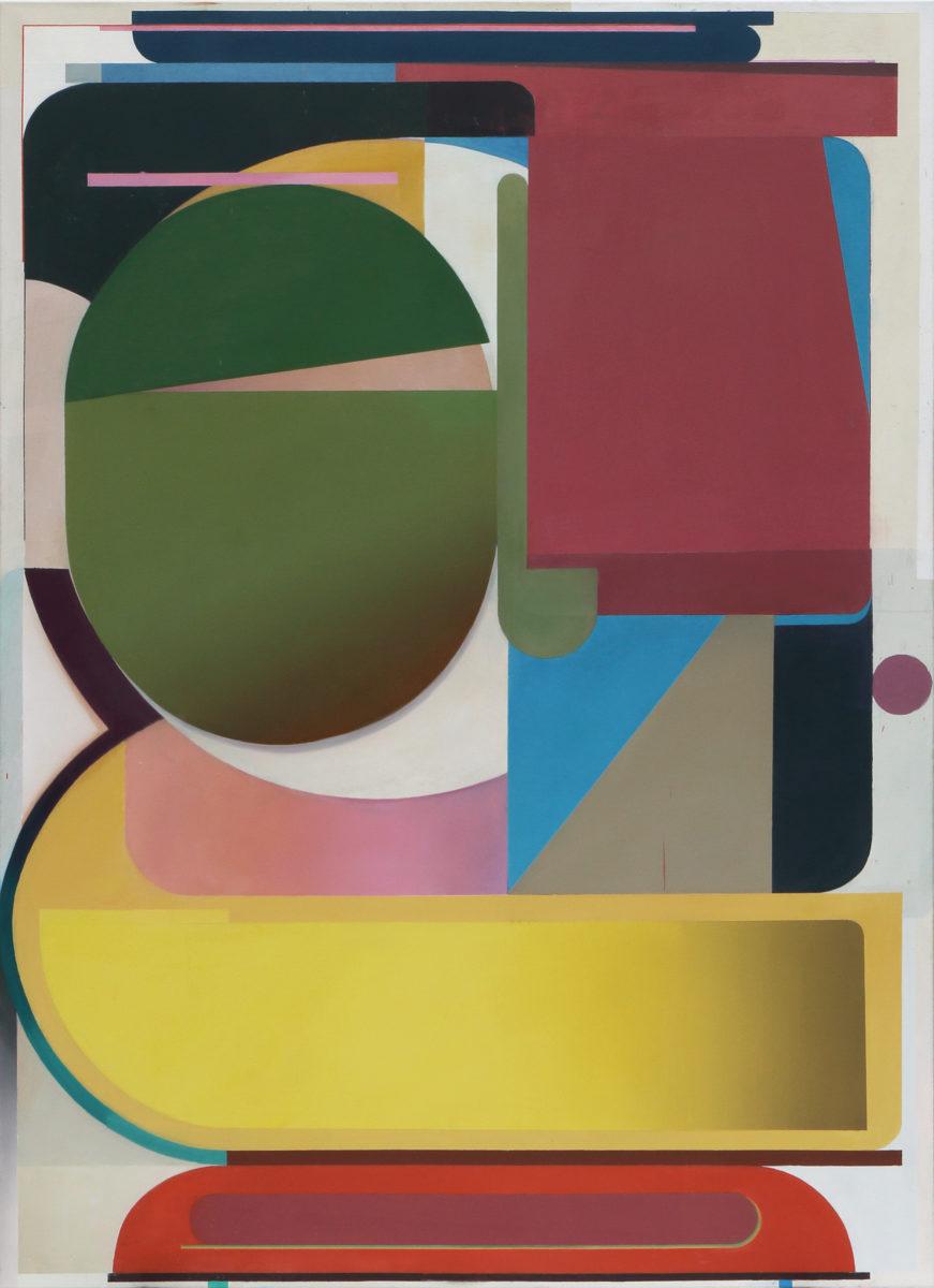 Bernhard Buhmann - Bernhard Buhmann Karate Kid, 2018 Oil on canvas 200 x 145 cm