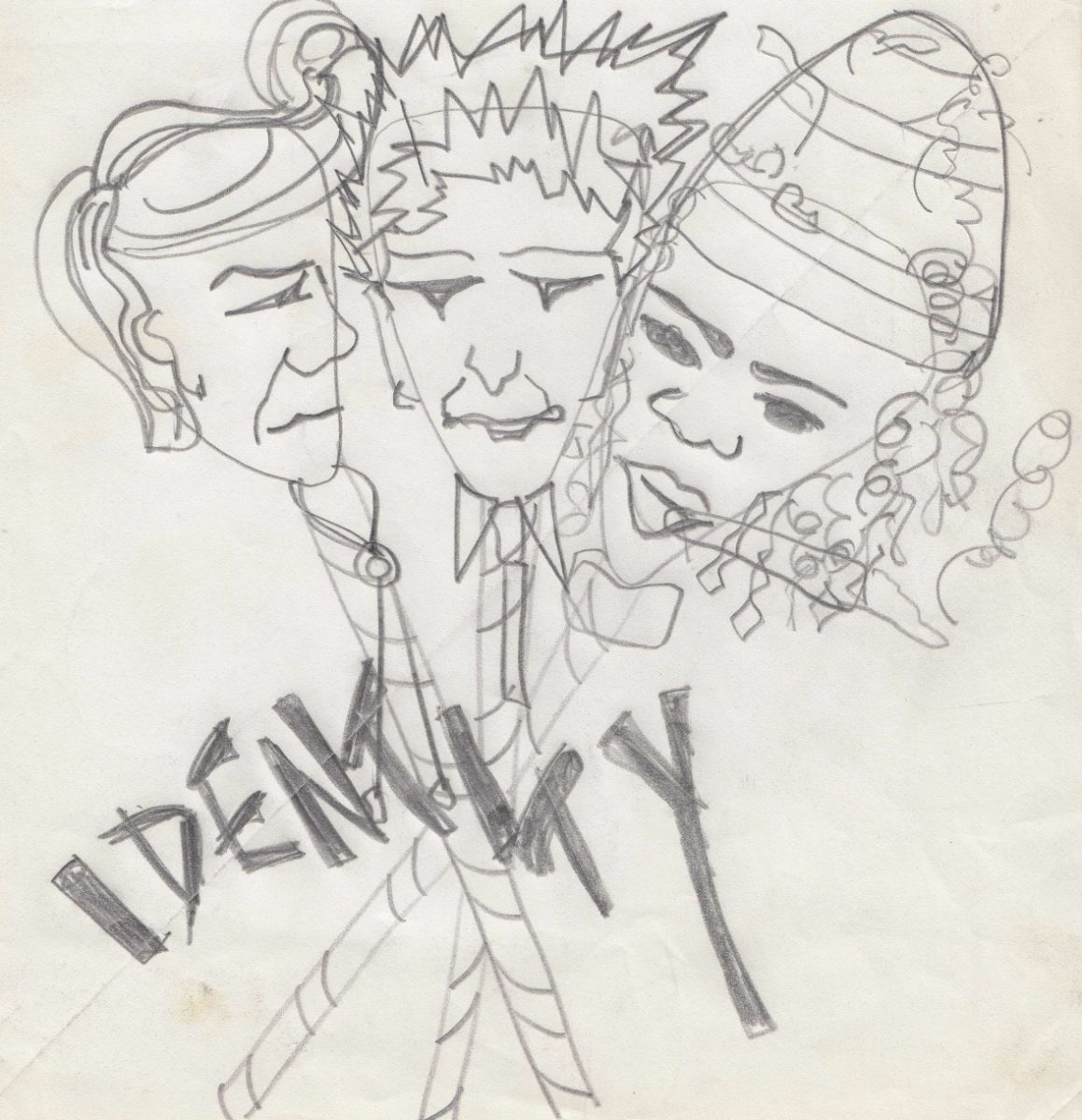 Poly Styrene's artwork for Identity