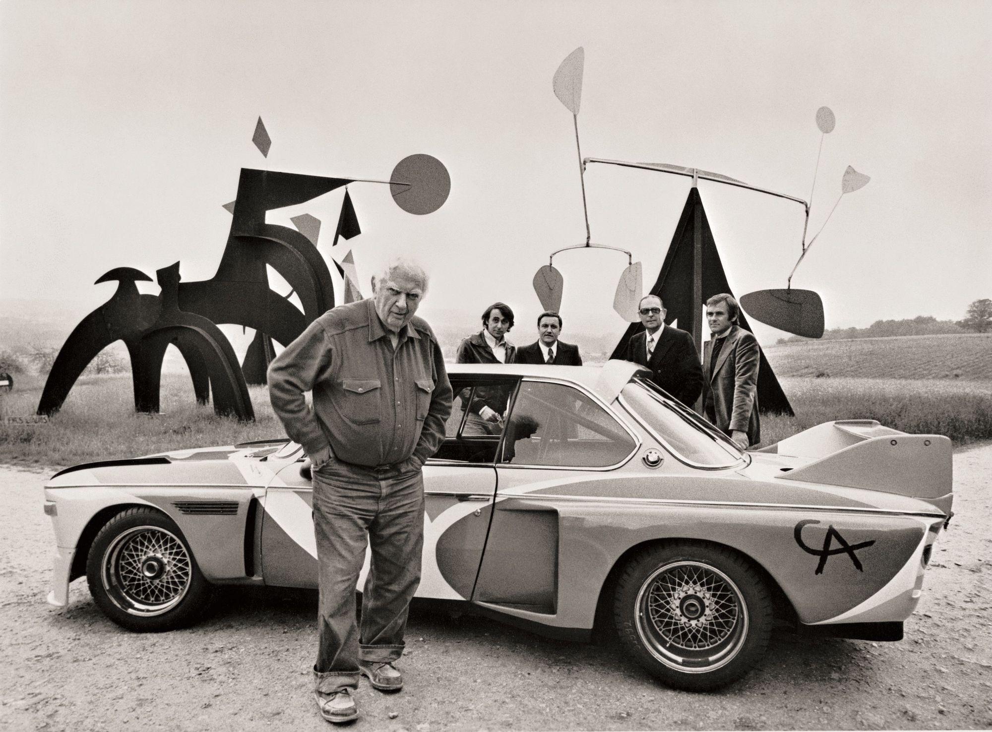 Alexander Calder, Art Car, 1975 © BMW