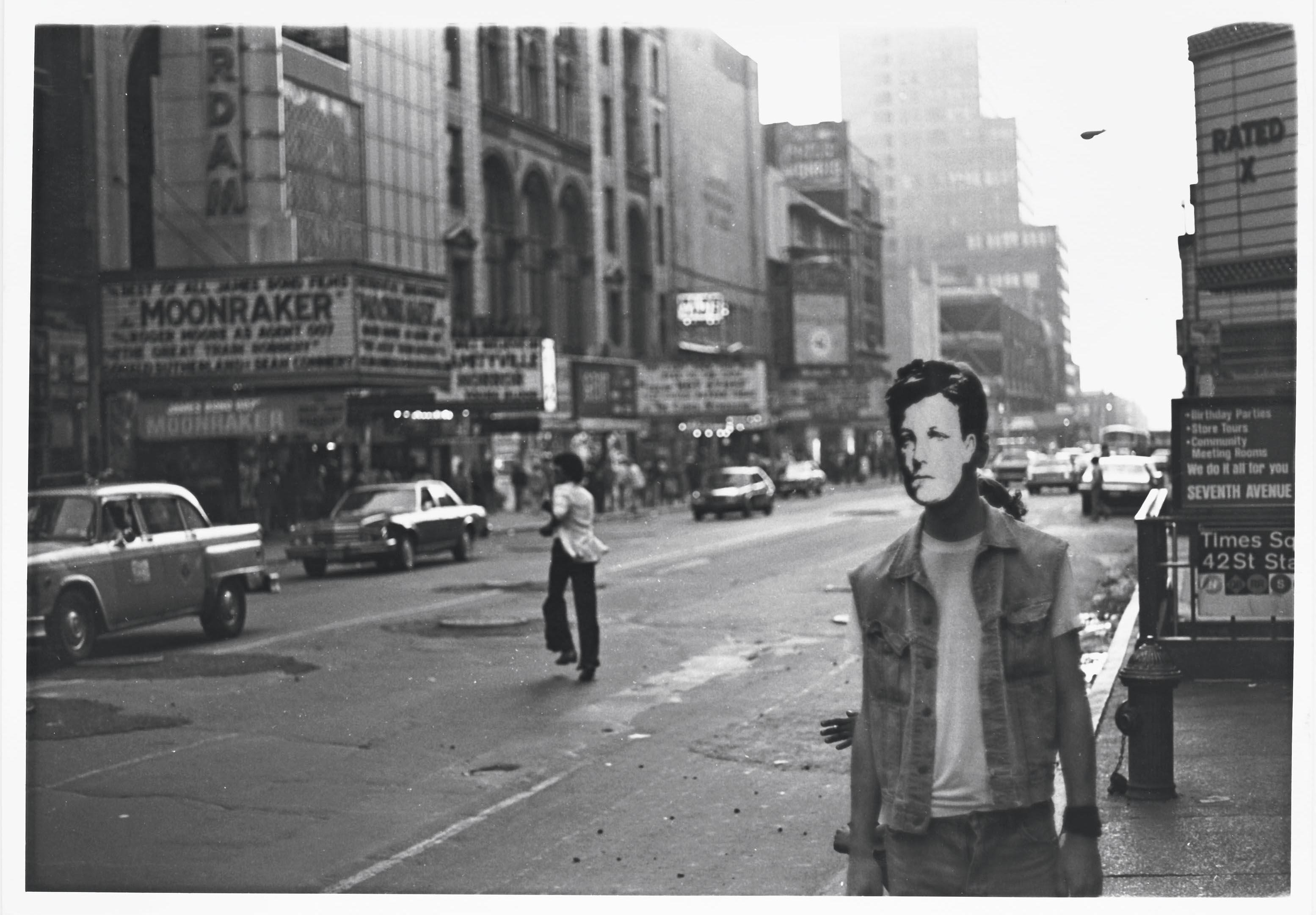 David Wojnarowicz, Arthur Rimbaud in New York, 1978-1979. Courtesy of PPOW Gallery, NY and the Estate of David Wojnarowicz