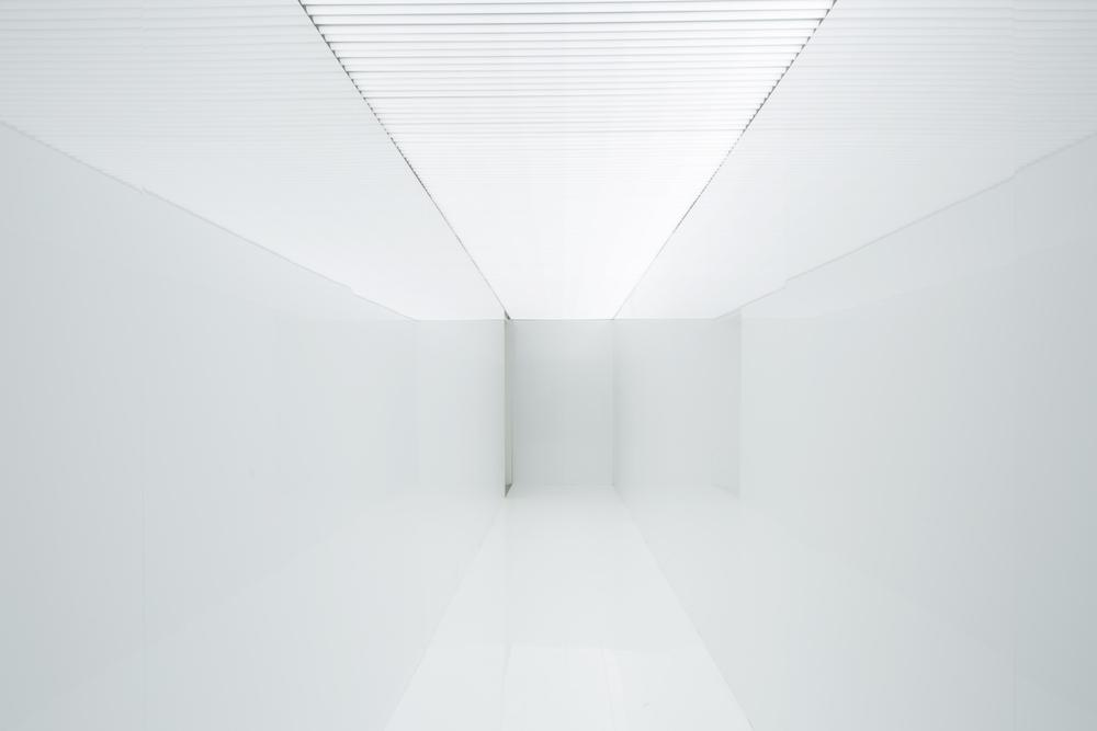 Ryoji Ikeda, Spectra III, 2008. LED lighting tubes, laminated white wooden panels. 58th International Art Exhibition - La Biennale di Venezia, May You Live In Interesting Times. Photo by Francesco Galli. Courtesy La Biennale di Venezia