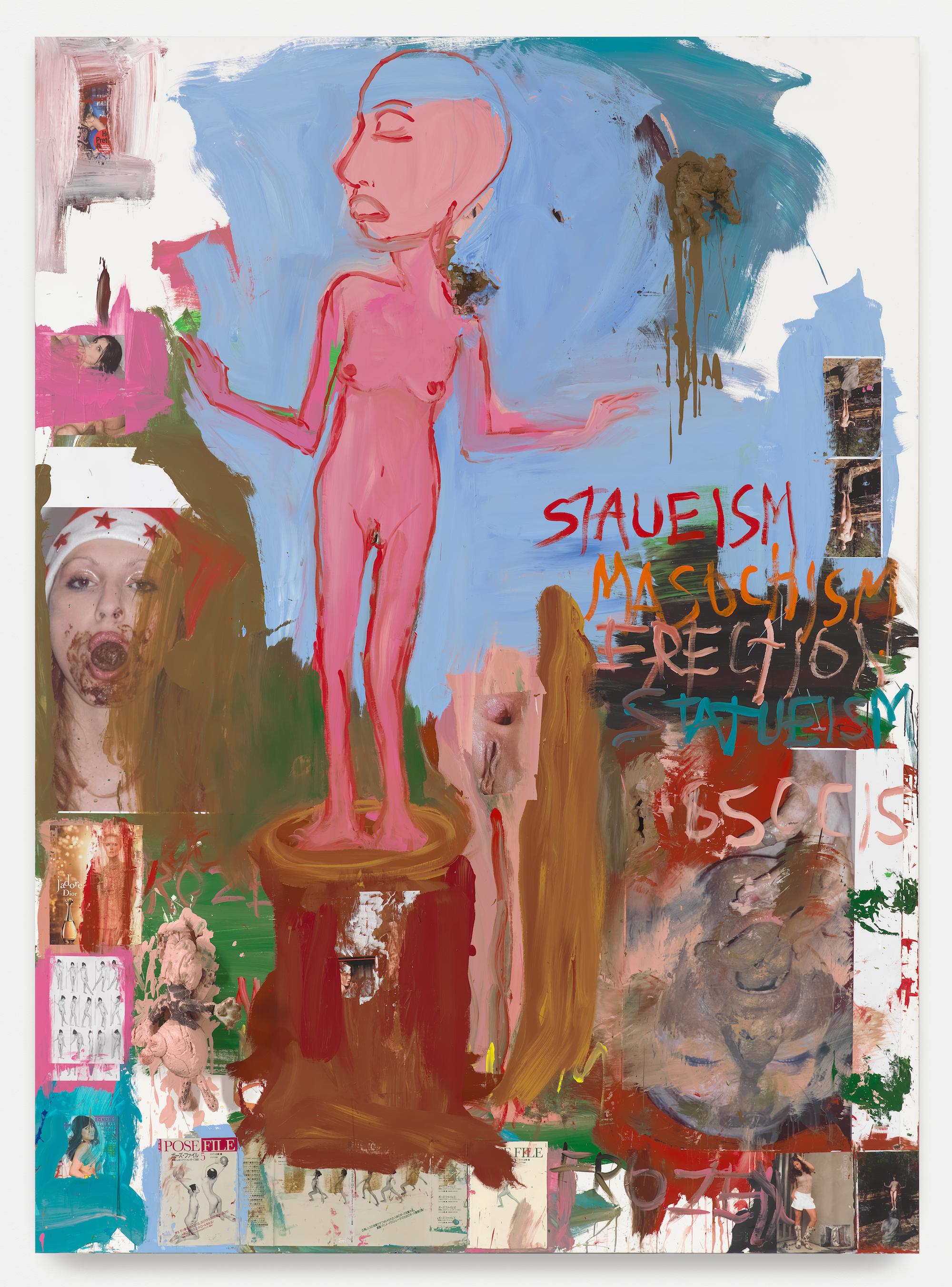 Paul McCarthy, WS, Staueism, Masochism, Erection, Statueism, Frozen, Pose File, Spiritual Philosophy, 2014