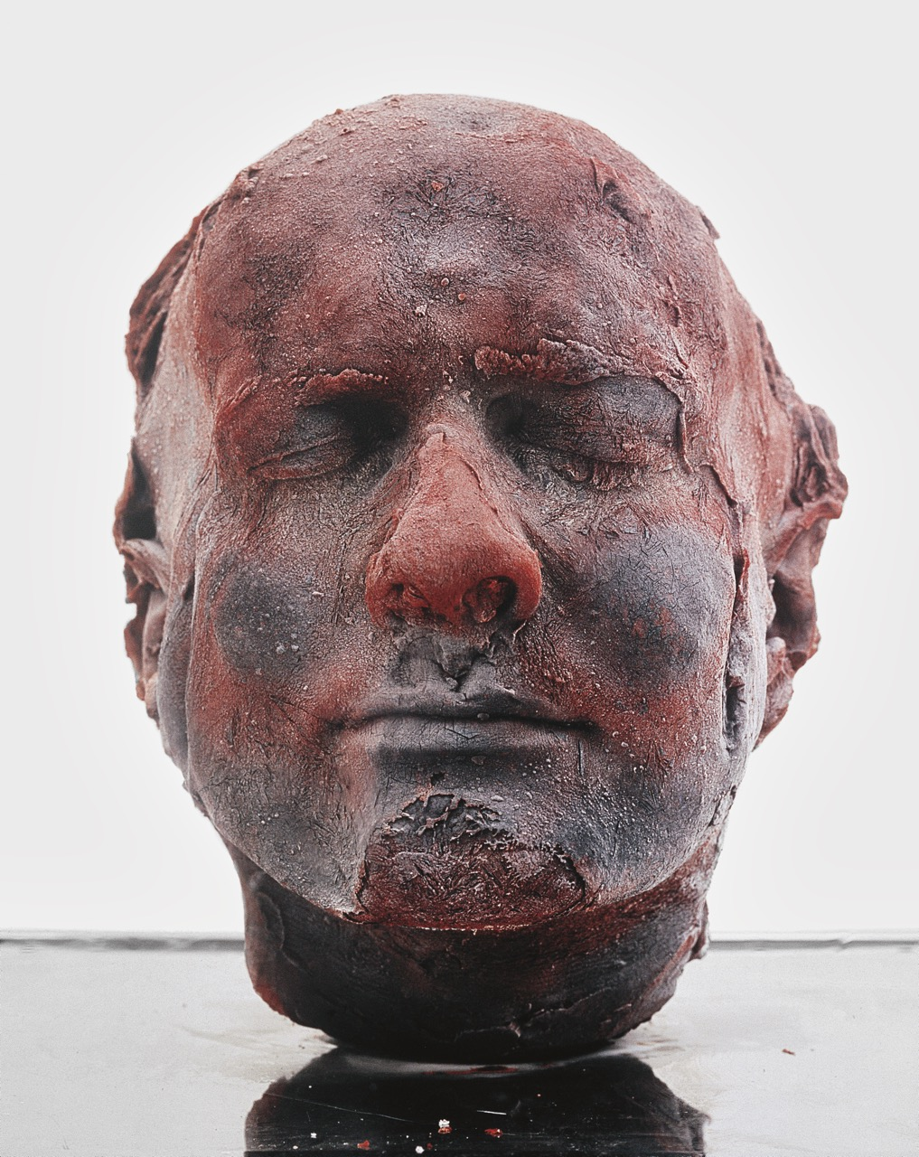 Marc Quinn, Self, 2006. Blood, stainless steel, perspex and refrigeration equipment