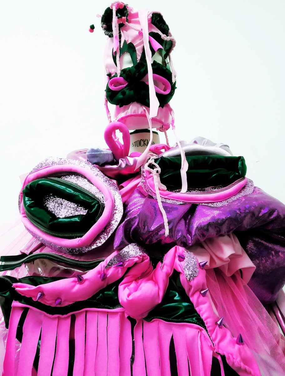 Lu La Loop, Pinkity Punky Slurp Monster costume designed for AJA