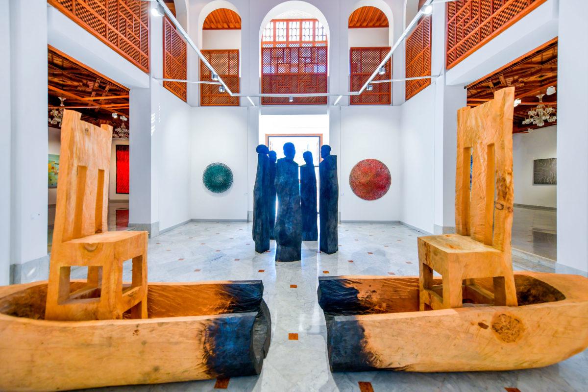 Installation View, Photo: F. Maazouz