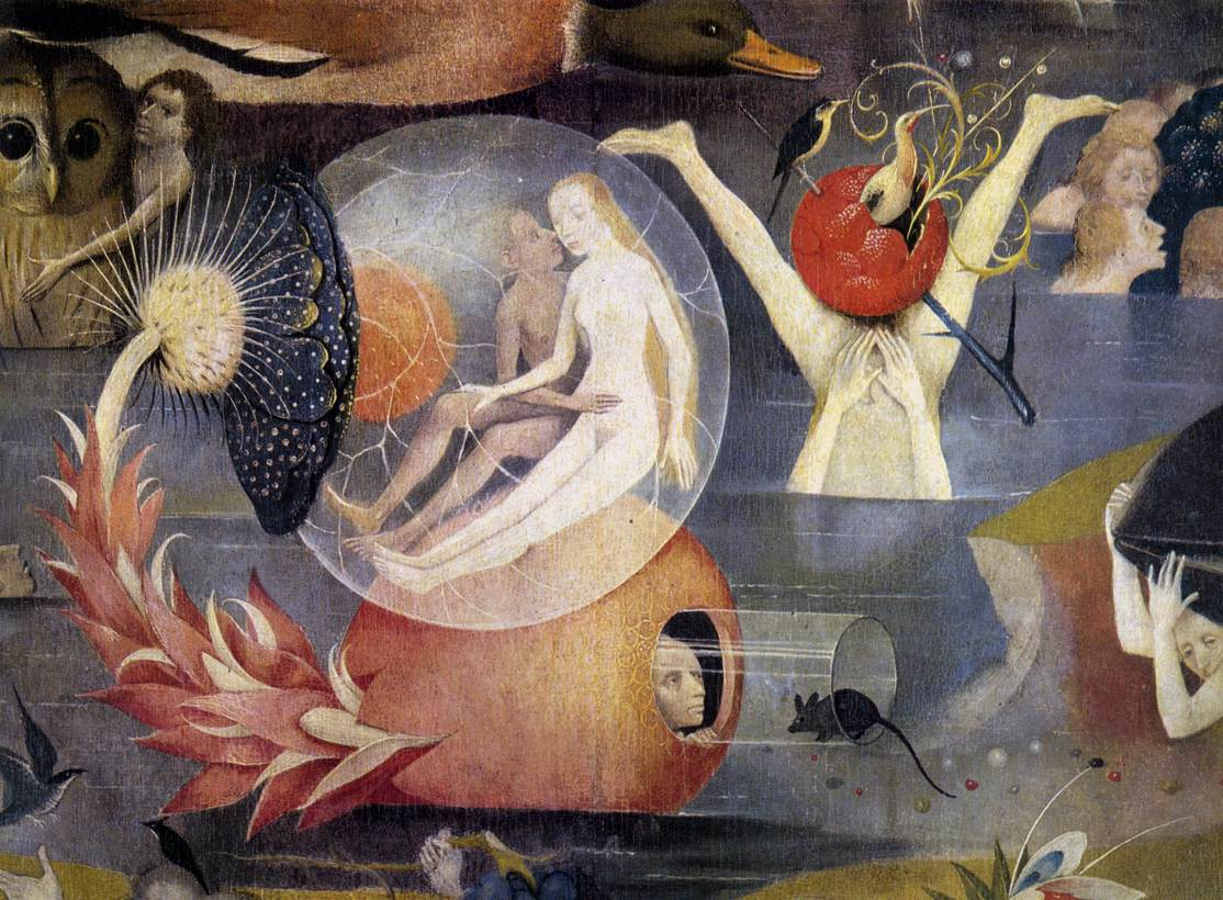 Hieronymus Bosch, The Garden of Earthly Delights c.1480-1505 (detail), Public Domain
