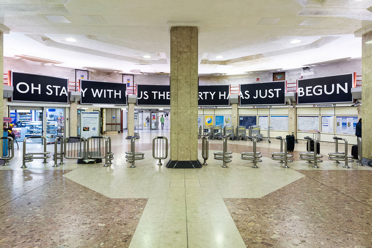 Laure Prouvost, You Are Deeper Than What You Think, 2019 at Heathrow Terminal 4