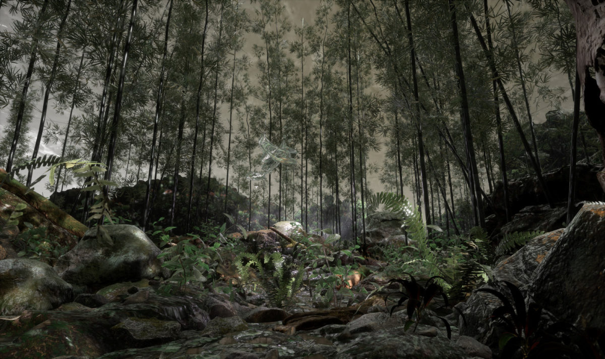 Jakob Kudsk Steensen, RE-ANIMATED, 2018, VR. Image courtesy of the artist