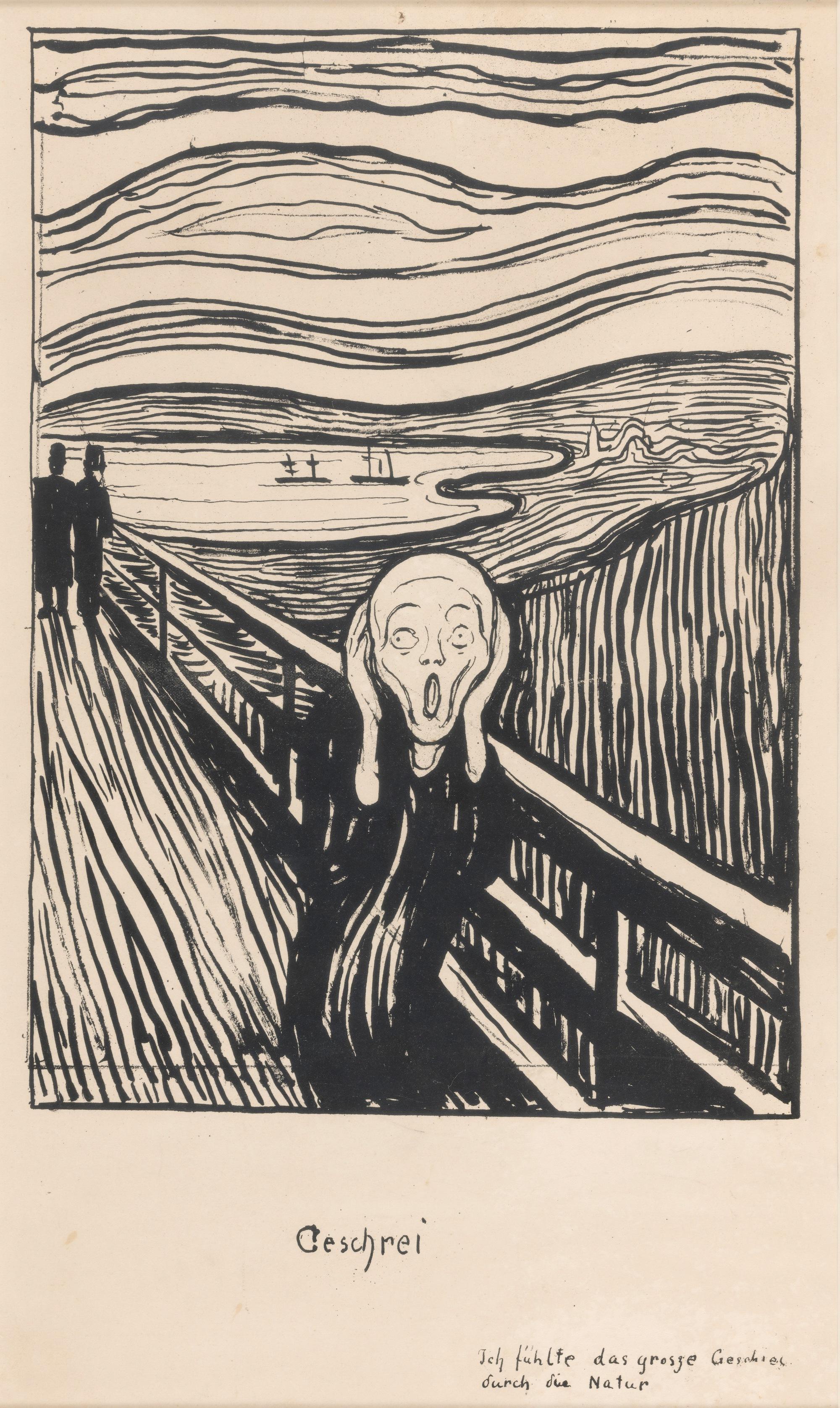 The Scream By Edvard Munch Saved Me In My Darkest Depression Elephant