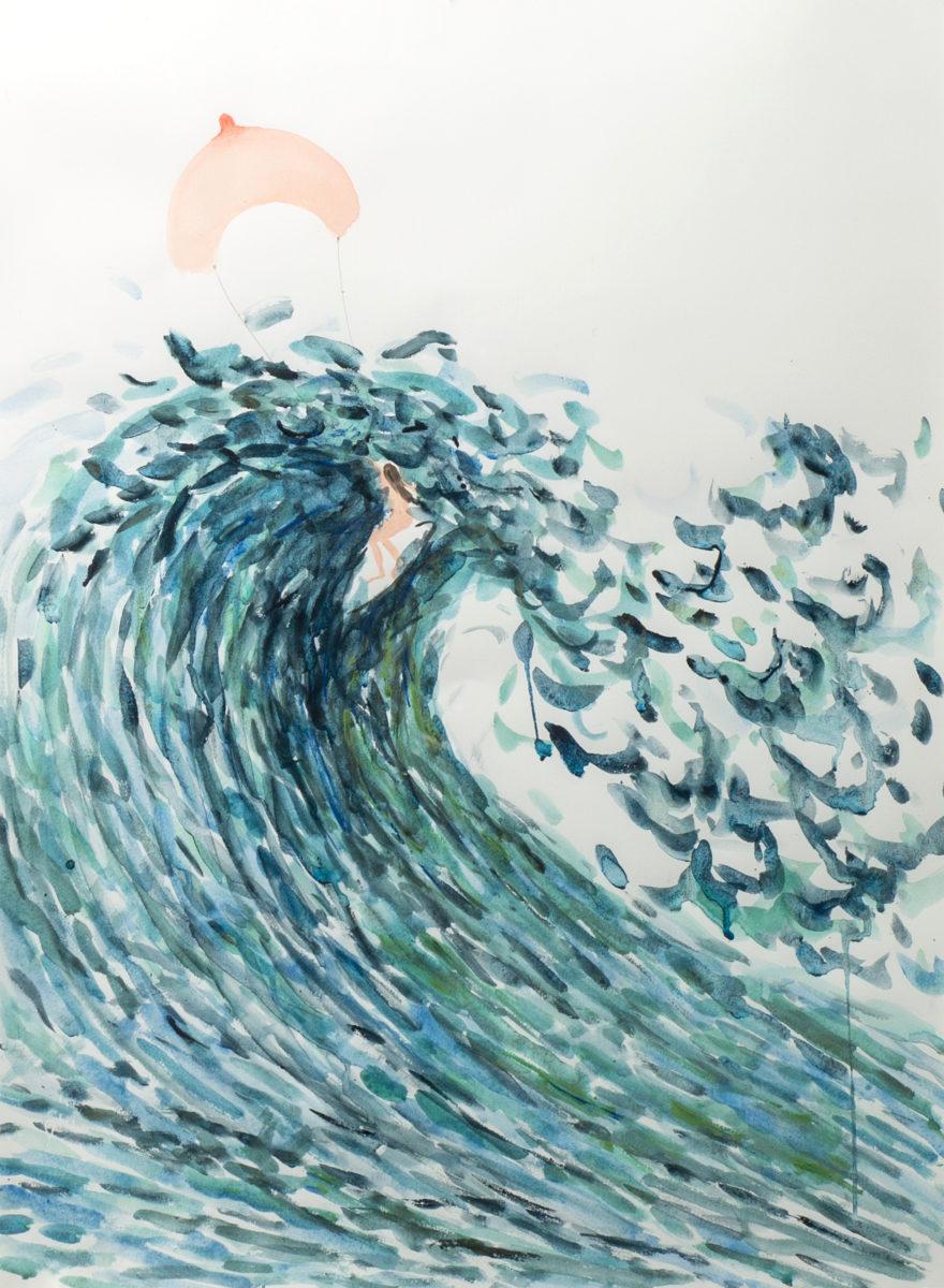 Amy Steel, Surfing, 2018