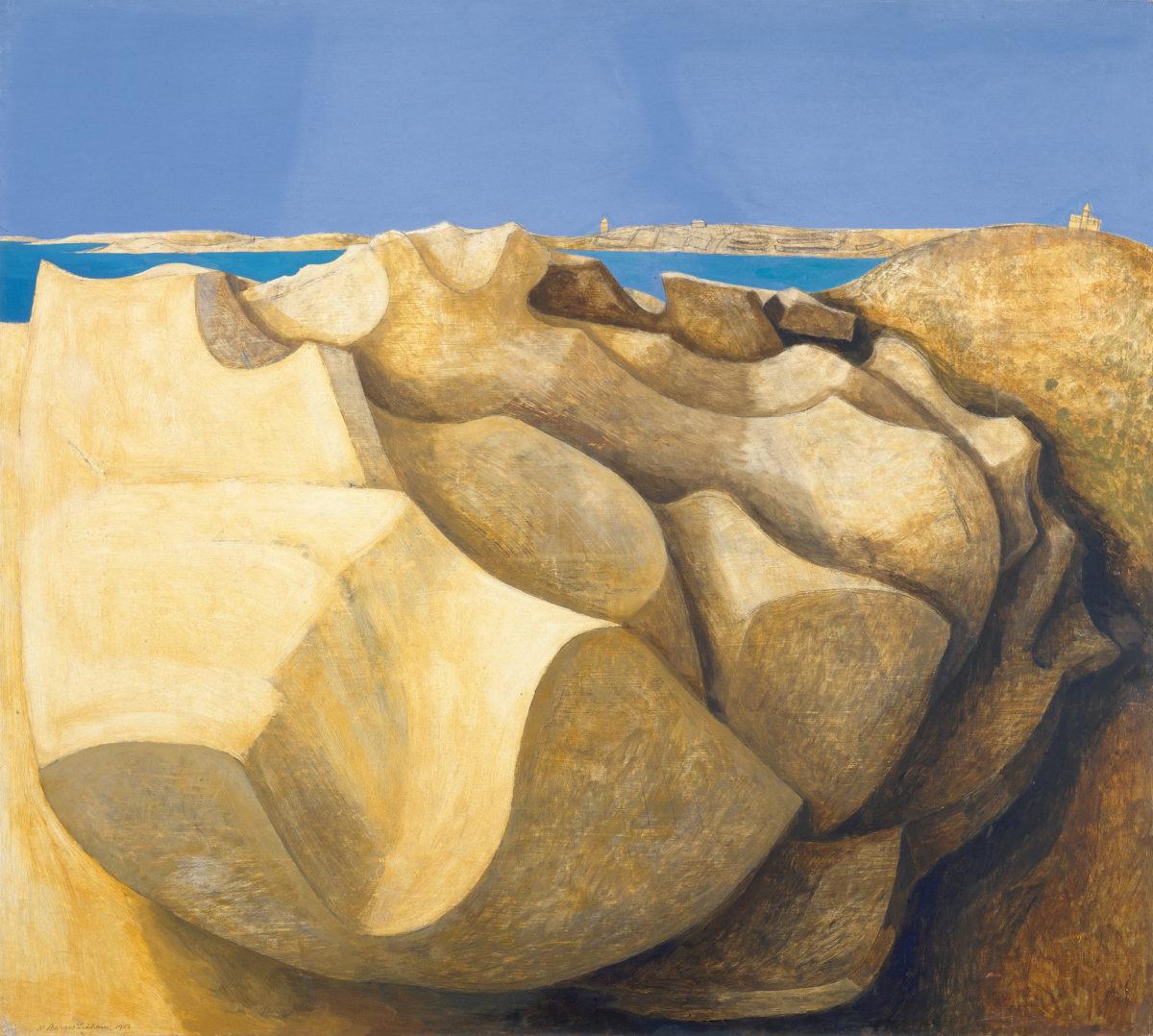 Wilhelmina Barns, Graham Rocks, 1953