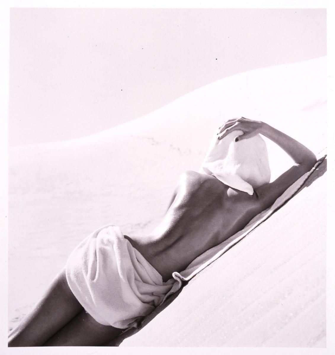 Louise Dahl-Wolfe, California Desert, 1948; Gelatin silver print, 14 x 11 in.; National Museum of Women in the Arts, Gift of Helen Cumming Ziegler; © 1989 Center for Creative Photography, Arizona Board of Regents