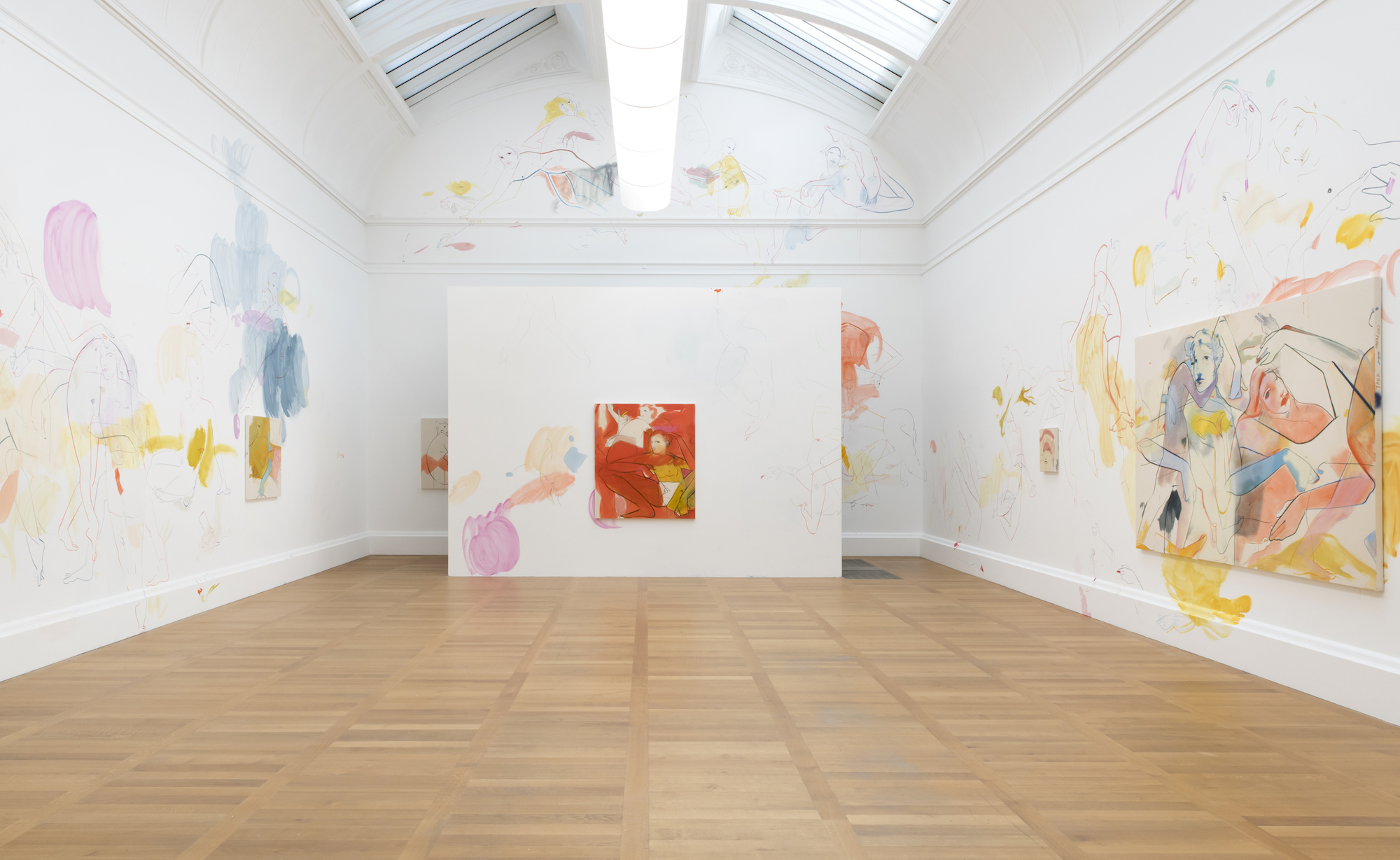 Installation view of Art Now: France Lise Mcgurn: Sleepless at Tate Britain, 2019
