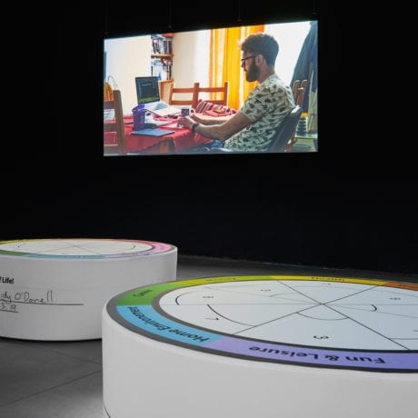 Liz Magic Laser, In Real Life 2019, installation view at FACT. Photo Rob Battersby.