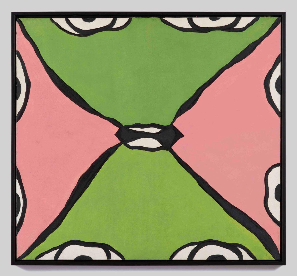Tate St Ives_Huguette Caland_Kiss_1968