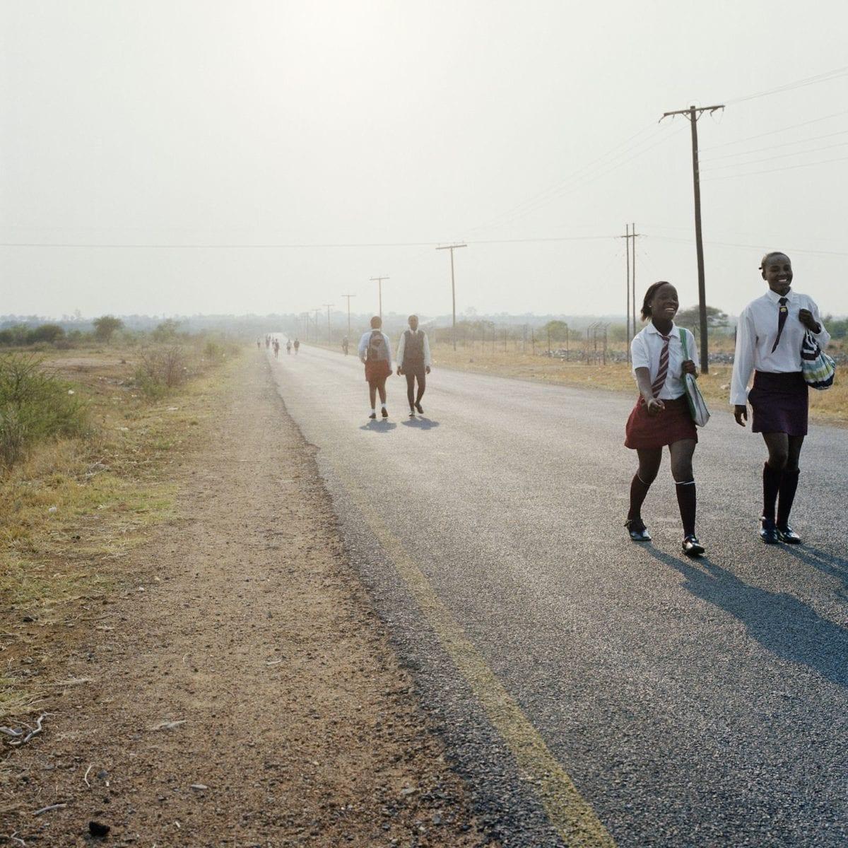 Homeland, Road Divide Guateng and Northwest Province, Hamaskraal, Former Bophuthatswana, 2011