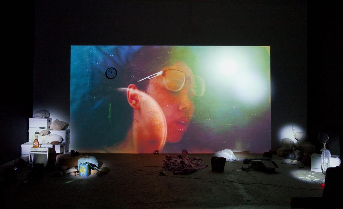Trisha Baga, Mollusca & The Pelvic Floor, 2018. Courtesy the artist and Greene Naftali, New York