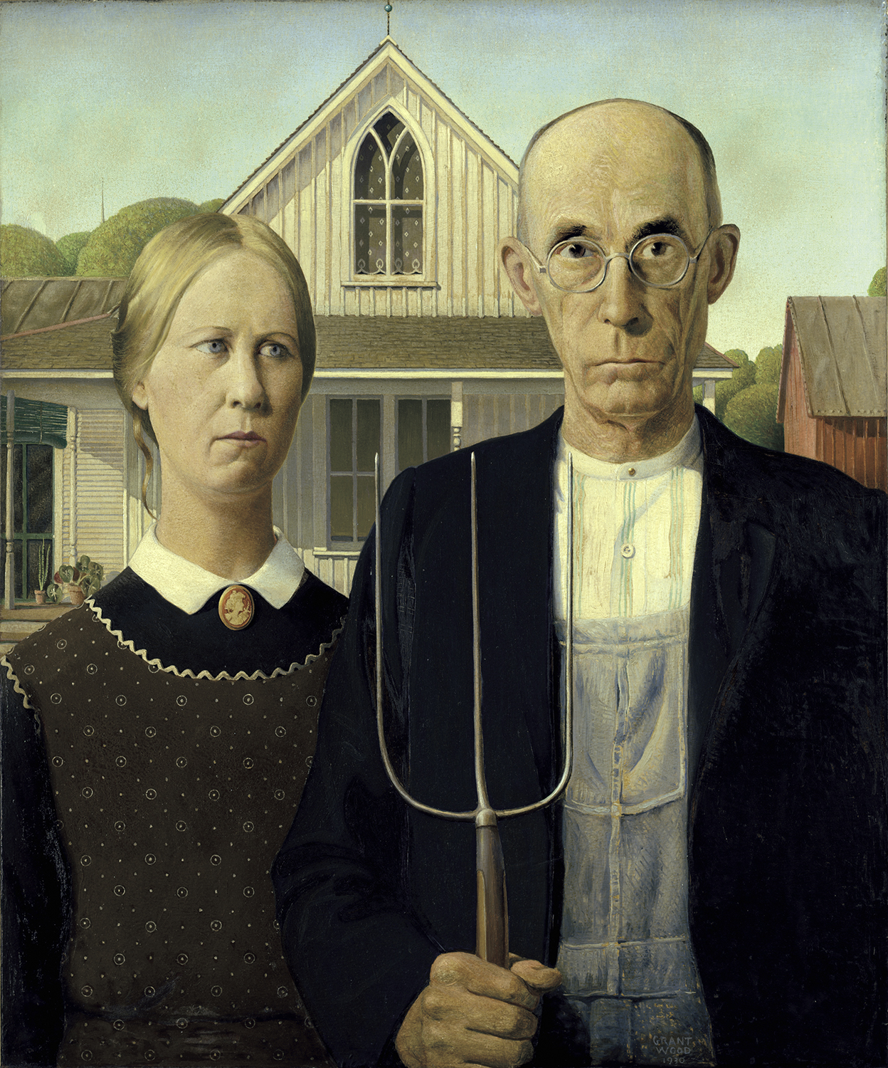 American Gothic Taught Me To Take Nothing At Face Value Elephant