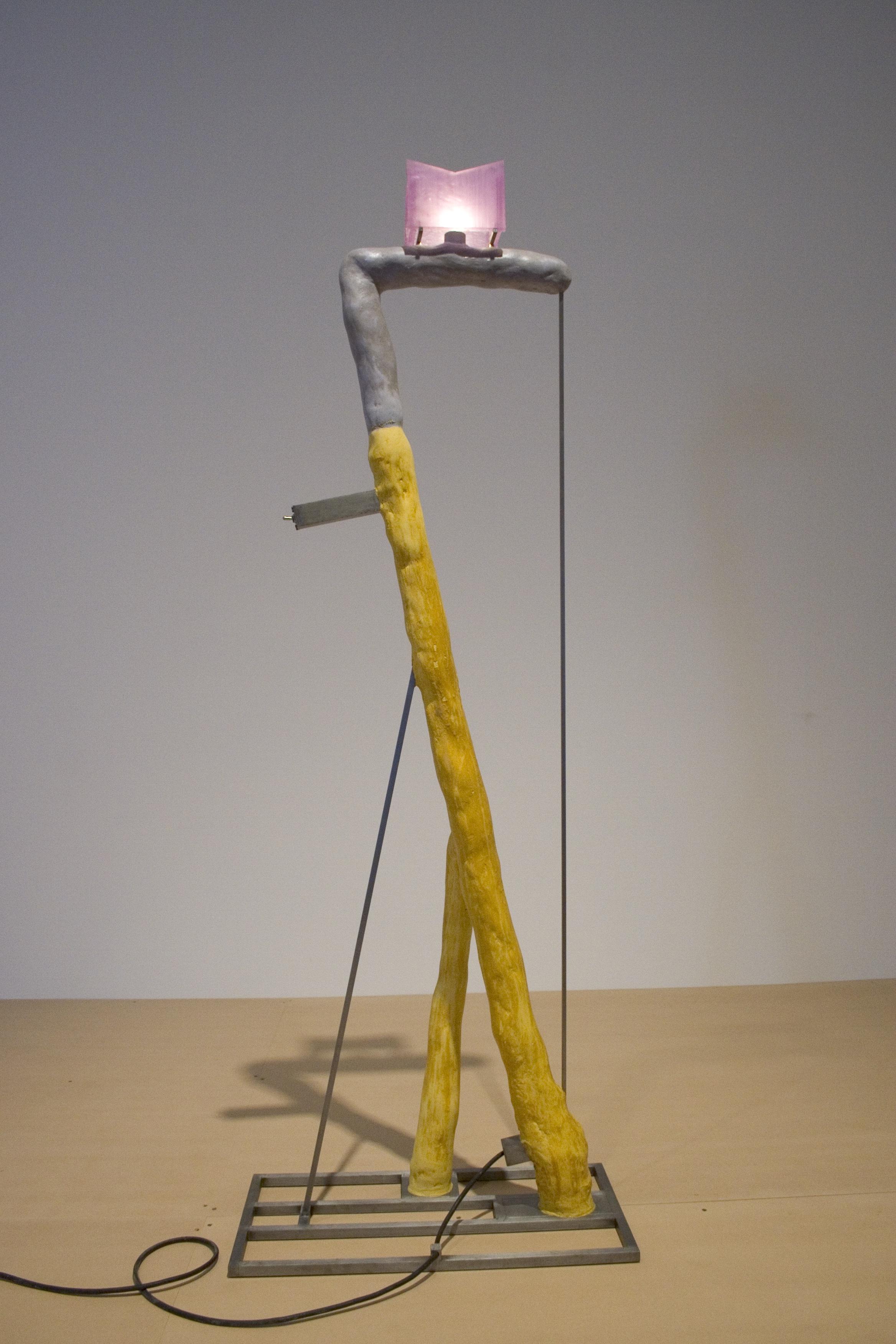 David Lynch, Yellow Green Violet Lamp, 2011