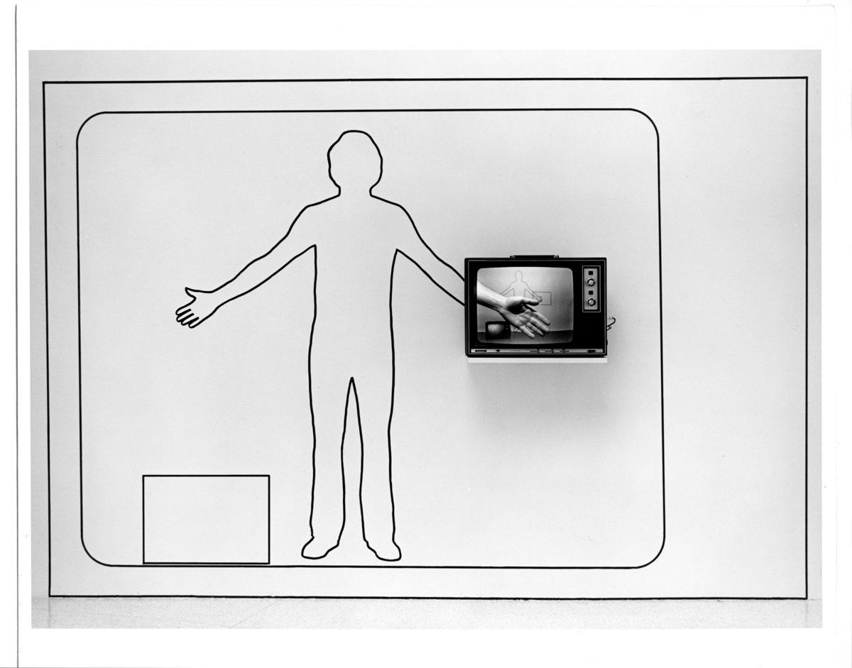 James Byrne, Scale Drawing, 1975. Installation for Akagawa Byrne Kahn Leicester Axelrod Bjorklund Herdegen Sorman: Regional Invitational 1975, Walker Art Center