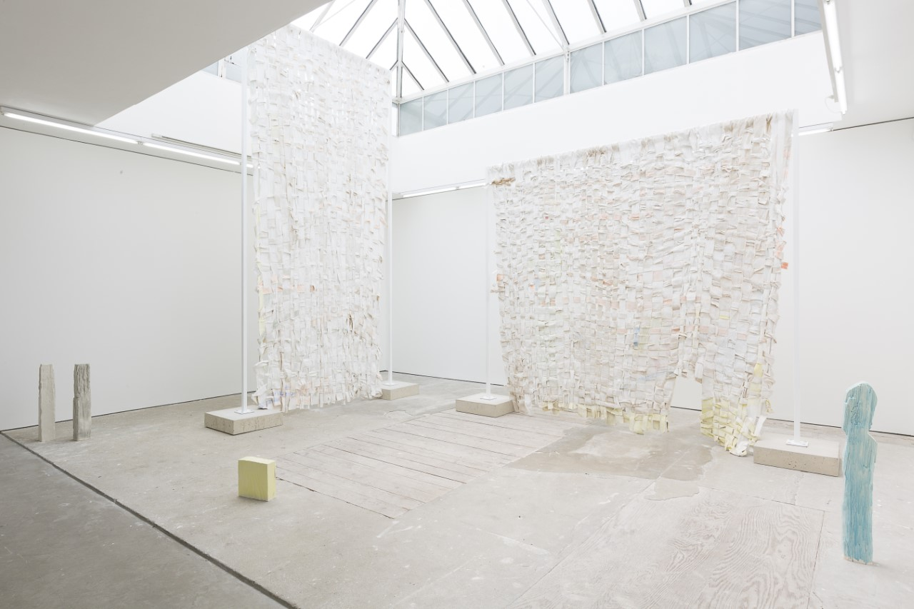 Installation view, Jodie Carey at Edel Assanti, London