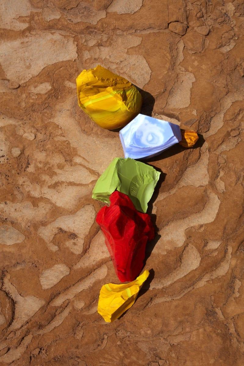 Lorenzo Vitturi Yellow Blue Green and Red Cotisso in Paracas