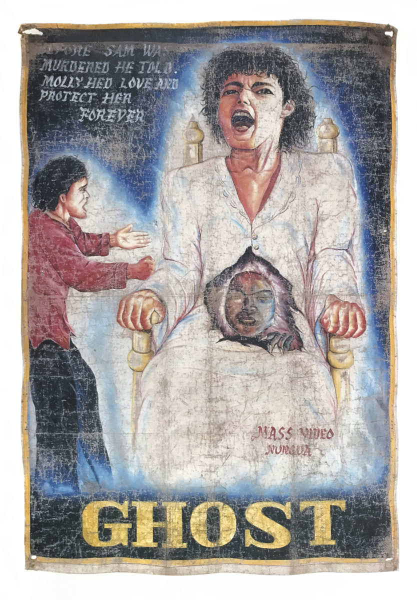 D.A. Jasper, Ghost, c. 1990. Courtesy Ernie Wolfe Gallery