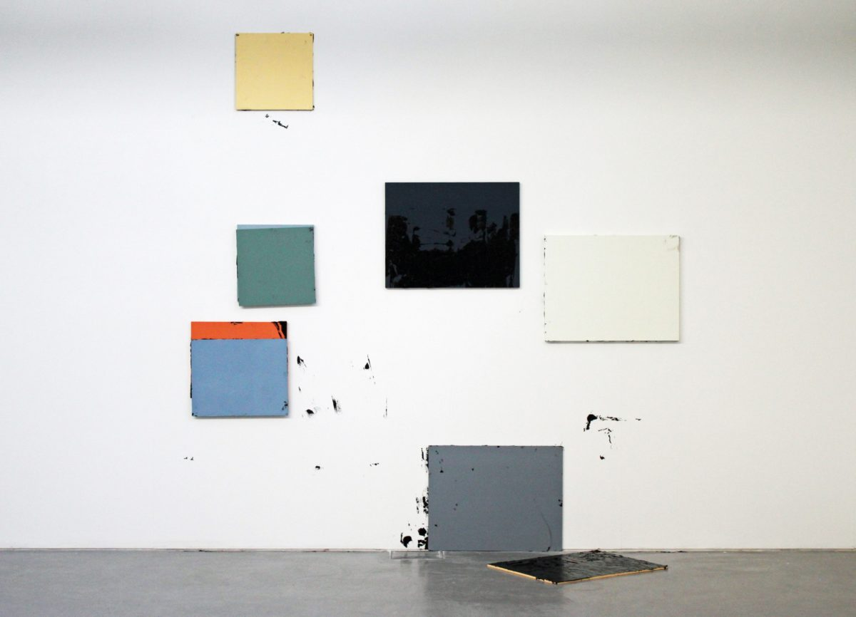 Alaena Turner, Secret Action Painting (5), 2015