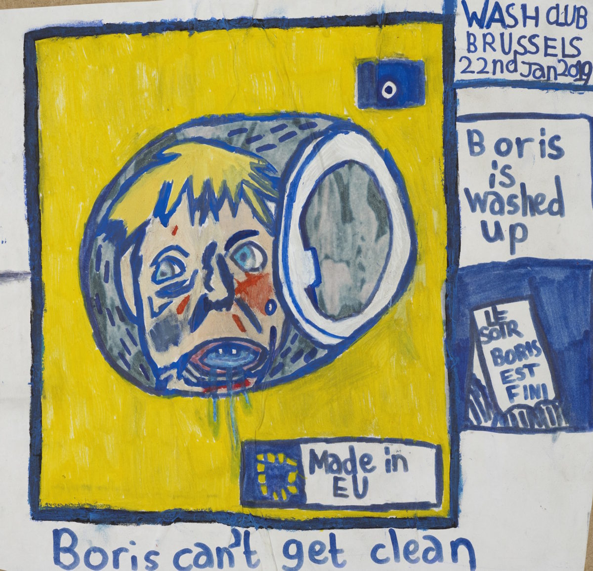 Eliot Lord, Boris Can't Get Clean, 2019
