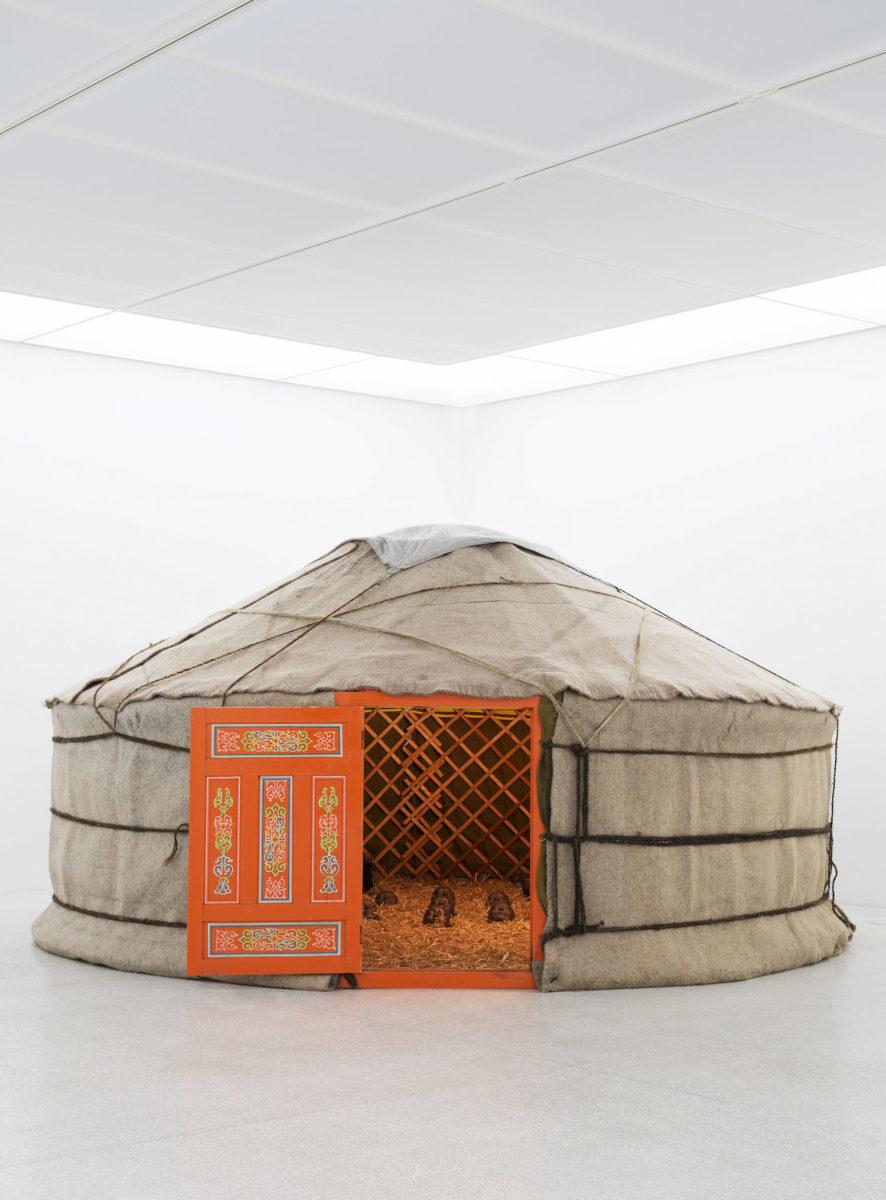 Nam June Paik, The Mongolian Tent 1993, Courtesy LWL-Museum für Kunst und Kultur Westfälisches Landesmuseum. Photo Hanna Neander