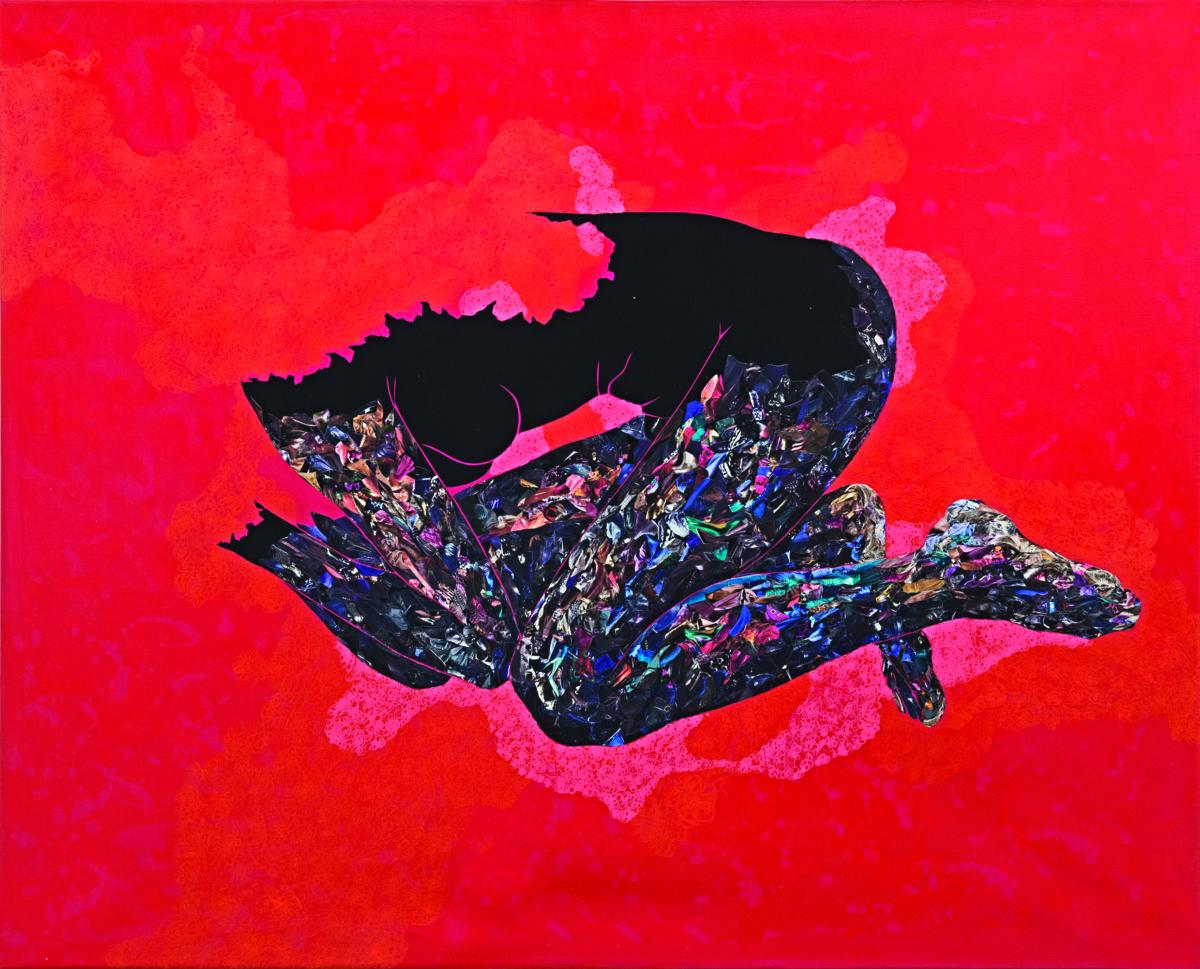 Mwilambwe Bondo,  Untitled, 2017