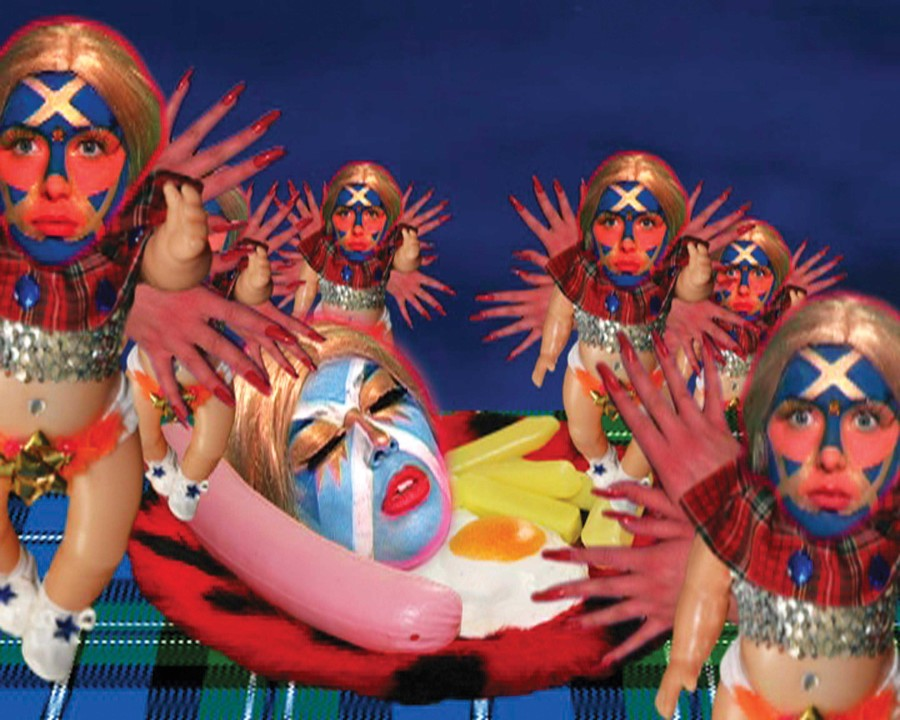 Tae Think Again by Rachel Maclean, 2008. Image courtesy New Contemporaries. © The artist